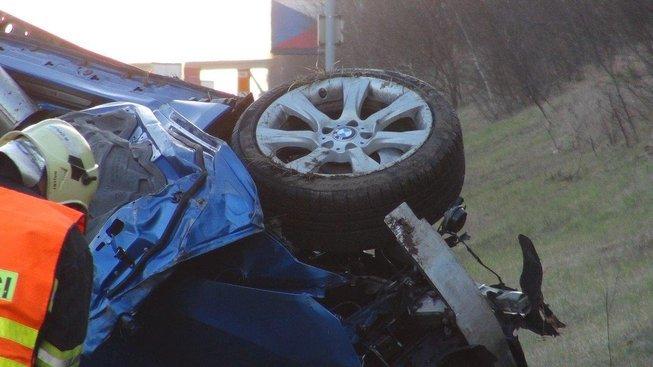 Tragická nehoda na dálnici D11, která se stala v dubnu 2018