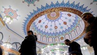 Mešita Mevlana v berlínské čtvrti Kreuzberg