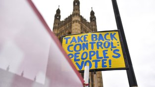 Z pondělní londýnské demonstrace proti brexitu