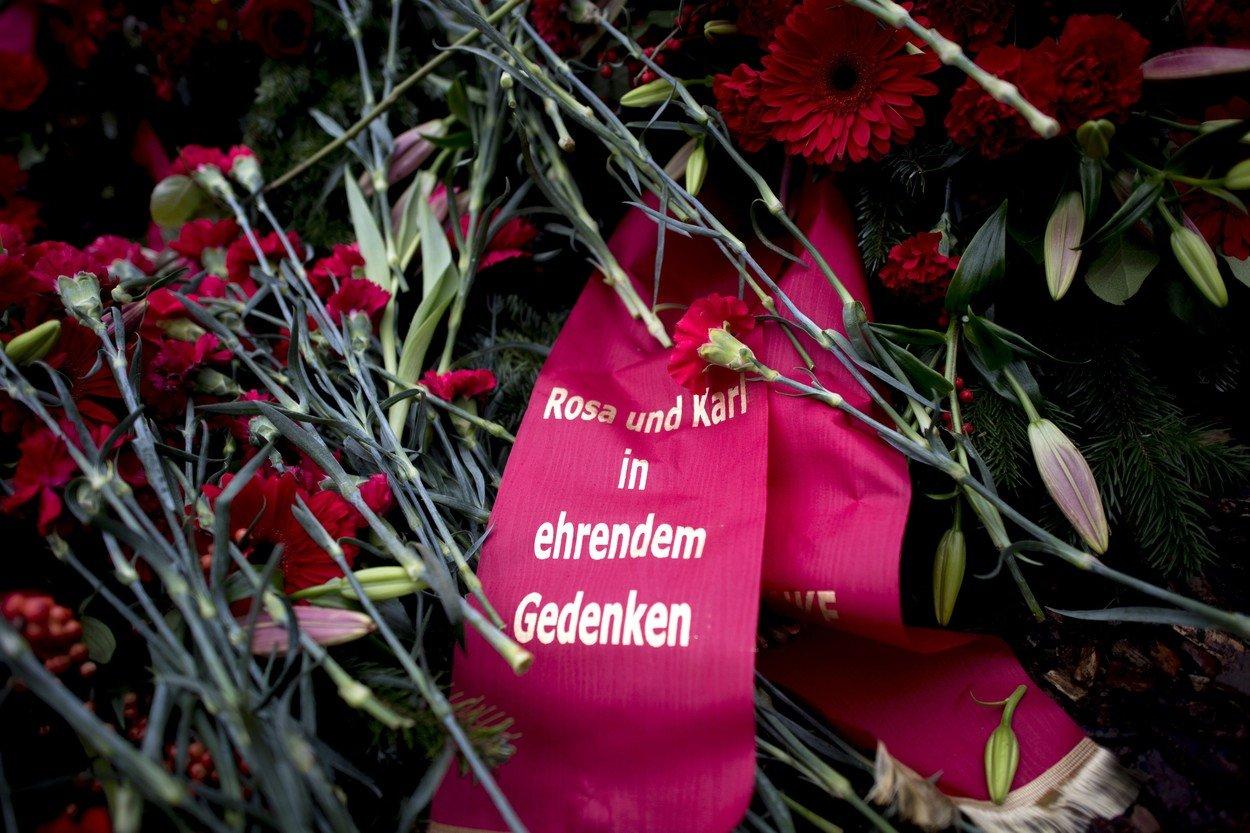 Rosa Luxemburgová a Karl Liebknecht