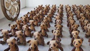 Medvídci, které navrhla česká výtvarnice