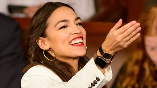 Alexandria Ocasio-Cortezová. V devětadvaceti nejmladší kongresmanka