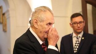 Zeman se u nejmenování Ošťádala ohání slovy o 'morální degradaci'