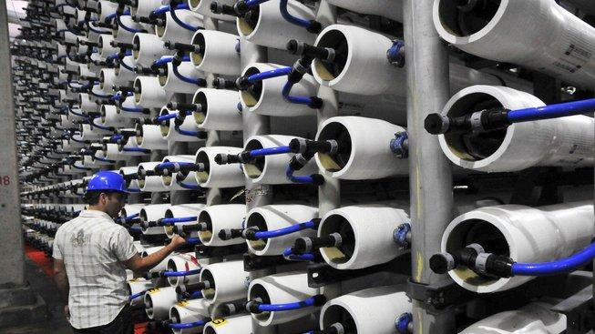 Postup odsolování vody má Izrael dokonale propracovaný, ale takto získaná voda není zrovna nejzdravější