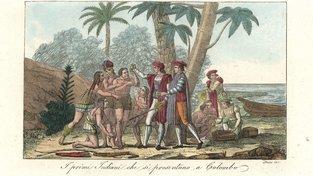 Kolumbovo přistání v Americe - ilustrační snímek