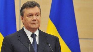 Bývalý ukrajinský prezident je mimo zemi