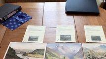 Policie na aukci zabavila tři údajné Hitlerovy obrazy