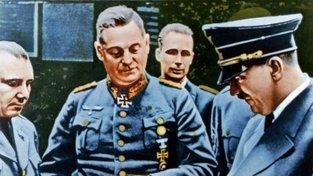 Martin Bormann, Wilhelm Keitel, Rudolf Hess a Adolf Hitler