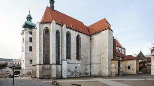Klášter na Piaristickém náměstí v Českých Budějovicích