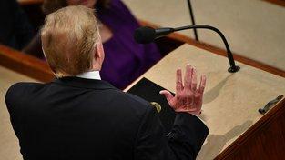 Trump přednesl poselství o stavu unie