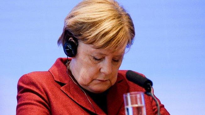 Německou kancléřku by výsledek průzkumu zřejmě nepotěšil...