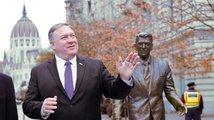 Nenechte Rusko rozeštvat západní spojence, vyzval Pompeo Maďary. Varoval i před Huawei