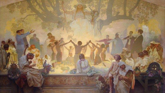 Záležitosti kolem Slovanské epopeje stále vzbuzují emoce
