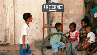 Děti na Zanzibaru