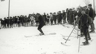 Matyáš Žďárský na jednom ze svých lyžařských kurzů