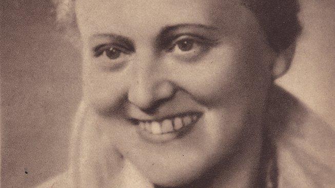 Zdena Mašínová starší na fotografii z roku 1945