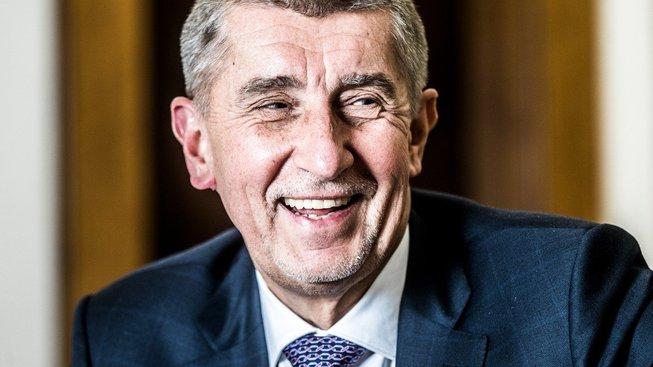 Premiér a staronový  předseda hnutí ANO Andrej Babiš