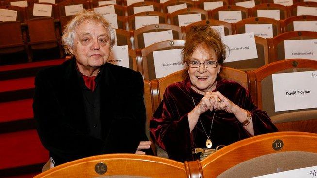 Kameraman Stanislav Milota s manželkou Vlastou Chramostovou