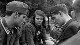 Christoph Probst, Hans Scholl a Sophie Schollová