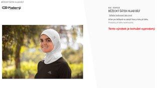 Běžecké hidžáby vyprodány. Že by o ně byl v Česku takový zájem?