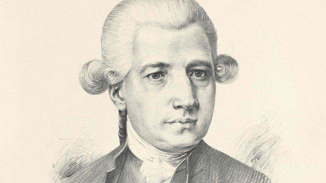 Josef Mysliveček na portrétu Jana Vilímka