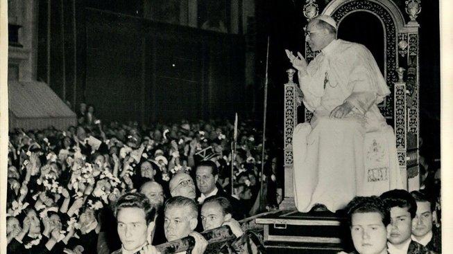 Papež Pius XII. v 50. letech