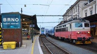 Hlavní nádraží Brno, ilustrační snímek