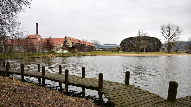Areál farmy Čapí hnízdo