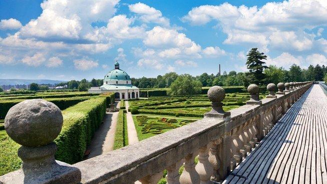 Květná zahrada patří k perlám Česka