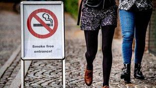 Nekuřácká ulice v nizozemském Groningenu