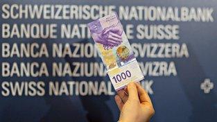 Nová švýcarská tisícifrankovka
