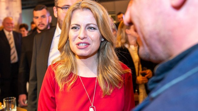 Zuzana Čaputová vyhrála první kolo slovenských prezidentských voleb