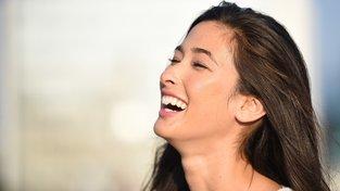 Modelka Melody Joko Reillyová je napůl Američanka a napůl Japonka