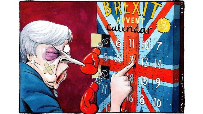 Brexitový advent je pro premiérku Mayovou utrpením. Schytala při něm bezpočet ran. Odvracejí se od ní poslanci vlastní strany i členové vlády a v Bruselu jí dávají najevo, že je neschopná