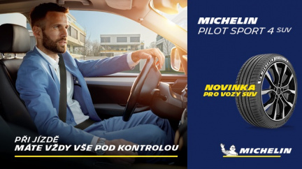 MICHELIN Pilot Sport 4 SUV – nová sportovní pneumatika pro luxusní SUV