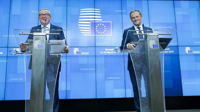 Juncker a Tusk po prvním dni summitu