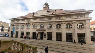 Budova Muzea moderního umění v Olomouci
