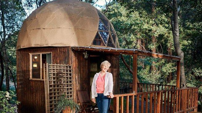 """Nejoblíbenějším na serveru Airbnb je """"houbový domeček"""""""