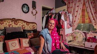 Sally Owenová růžovou prostě zbožňuje!