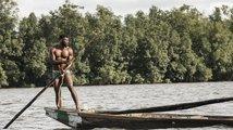 Těžaři písku v Kamerunu