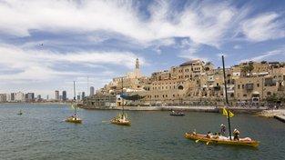 Jaffa - z přístavního města se stala jedna z čtvrtí Tel Avivu.