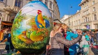 Velikonoční trhy ve Vídni