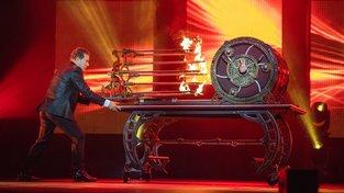 Kouzelník Mark Kalin známý jako The Showman v akci