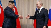 Schůzka Kima a Putina se protáhla, jednali o obchodu i Korejském poolostrově