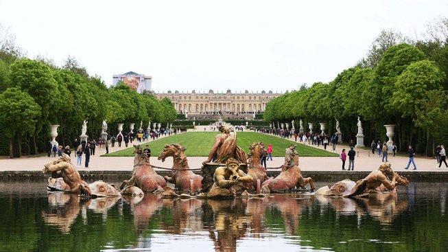 Palác ve Versailles patří k nejznámějším památkám Evropy