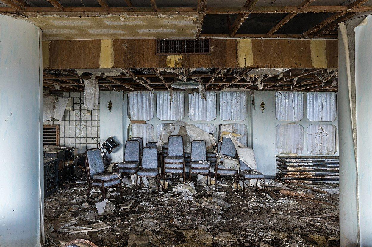 Opuštěný japonský hotel