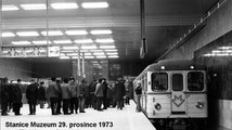 Pražské metro slaví 45 let