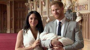 Princ Harry a vévodkyně Meghan s potomkem