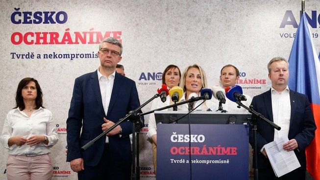Hnutí ANO ve svém programu pro evropské volby vyzdvihuje, co vše by rádo pro slabé Česko vybojovalo