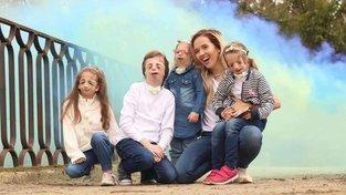 Tamara Klusová a děti s TCS